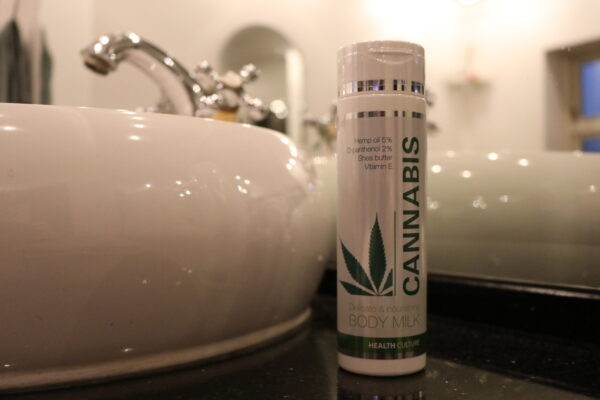 Cannabis body milk